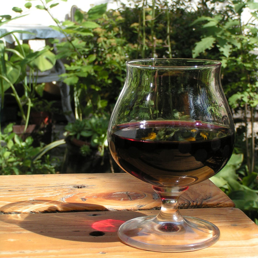Dégustation de vin de bourgogne