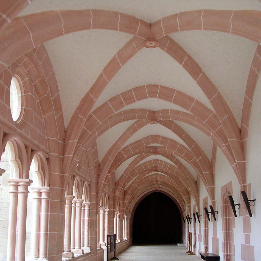 Abbaye de Citeaux : galerie cloitre